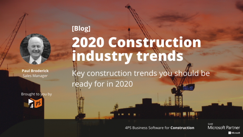 Blog: Construction trends in 2020