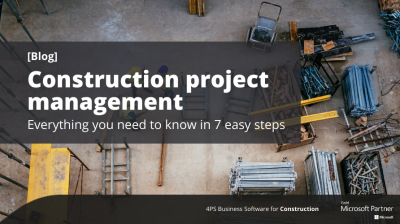 Blog: Project management in 7 steps