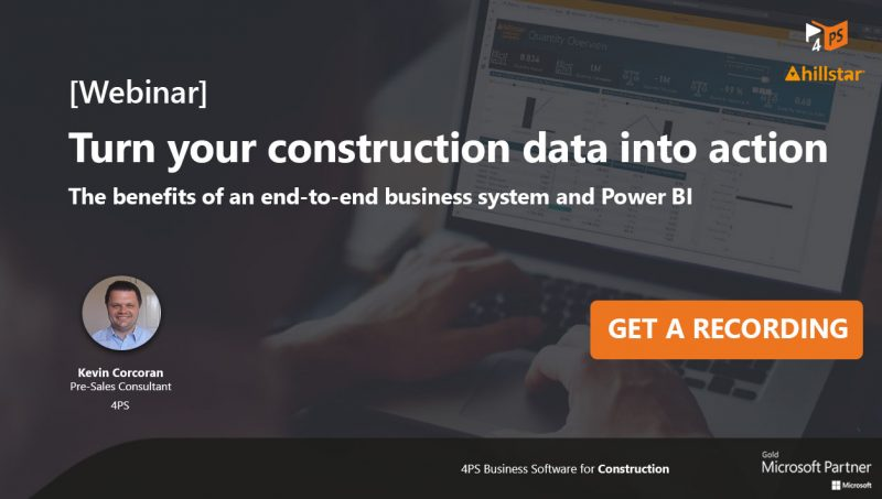 Webinar: Turn your construction data into action with Power BI