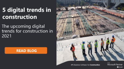Construction industry trends for 2021