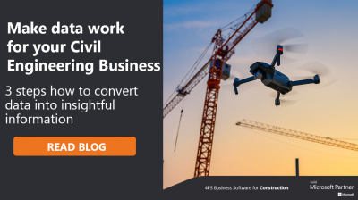 3 steps how to make data work for you in Civil Engineering