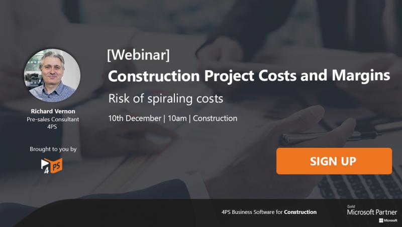 Webinar: Construction Project Costs & Margins