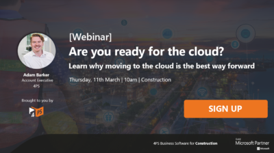 Webinar: Are you ready for the cloud?