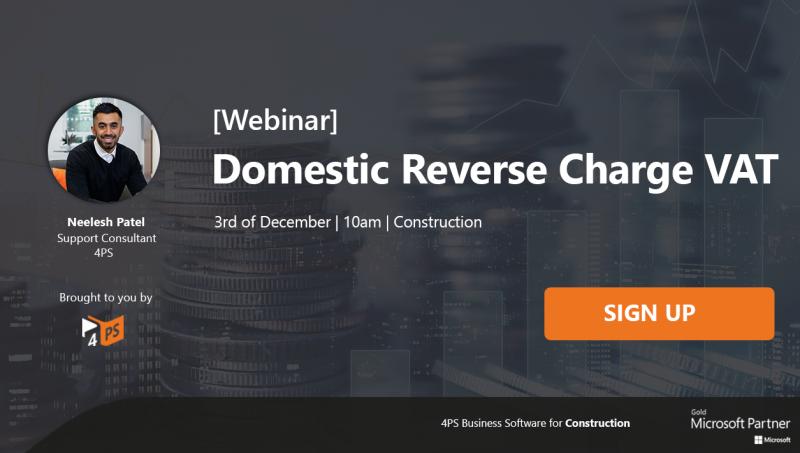 Webinar: Domestic Reverse Charge VAT
