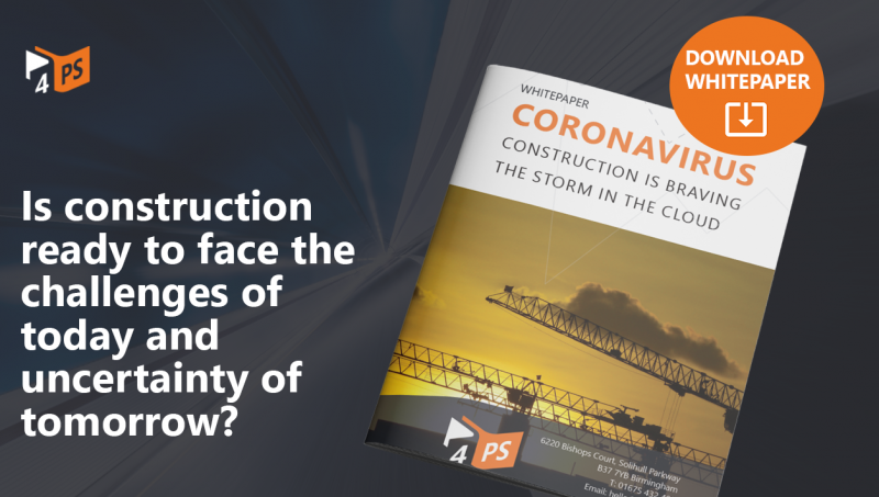 Whitepaper: Coronavirus - Construction is braving the storm in the cloud