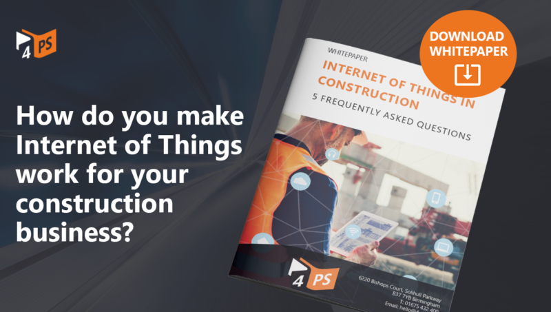 Whitepaper: Internet of Things in construction - 5 frequently asked questions