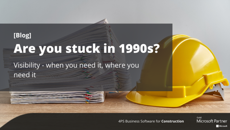 Blog: Are you stuck in the 1990s