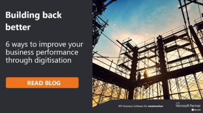 6 Ways to improve your construction productivity through digitisation