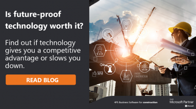 Can construction industry work well without future-proof technology?