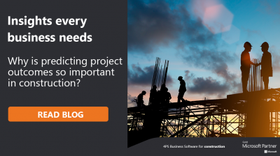 Why is forecasting in construction crucial for business success?