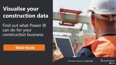 Visualise your construction data with Power BI
