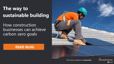 Achieving sustainable building in construction