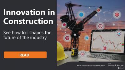 Innovation in Construction - IoT