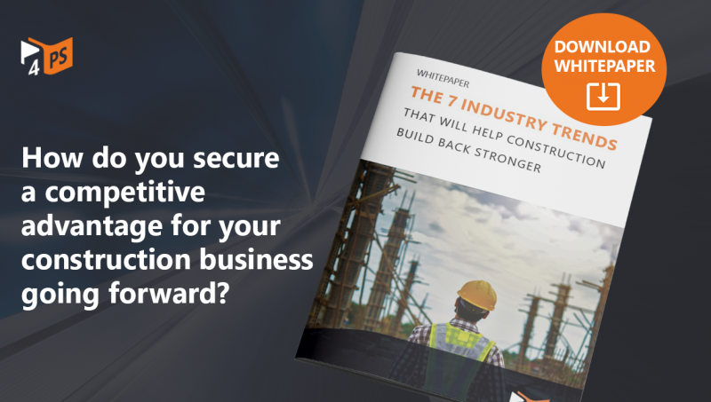 Whitepaper: 7 Trends that will help construction build back stronger