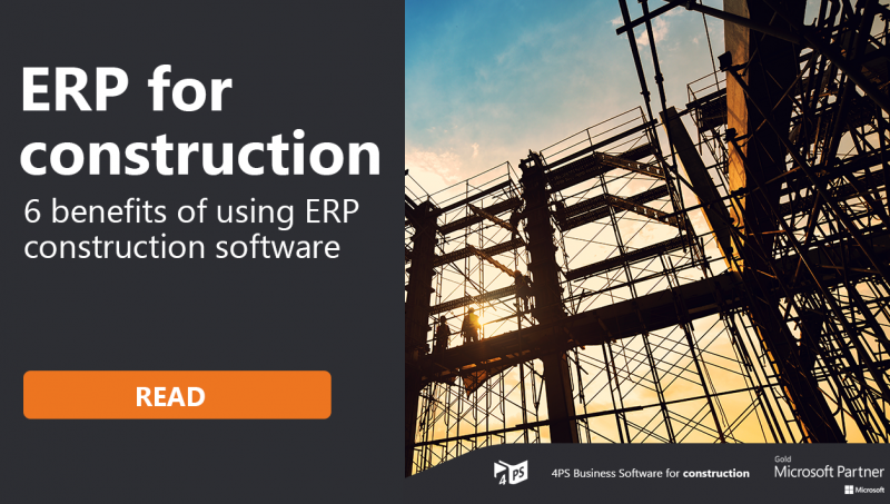 Blog: ERP: 6 benefits for your construction business