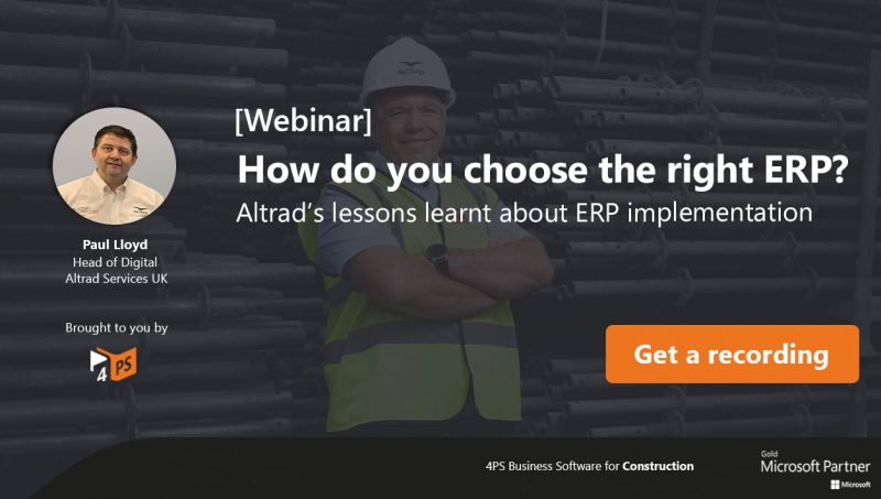 Lessons learnt about ERP implementation