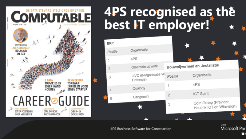 4PS voted as best ERP supplier to work for