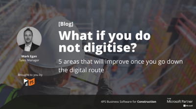 Blog: What if you do not digitise?