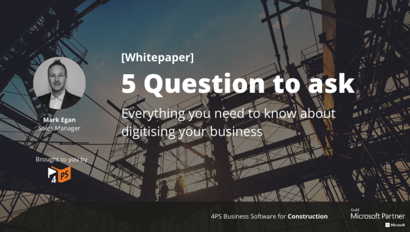 Digitising Your Construction Business