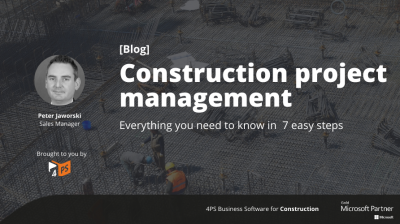 Blog: Project management in 7 steps