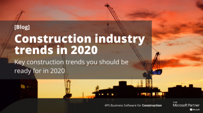 Blog: Construction industry trends in 2020