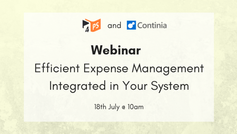 Efficient Expense Management Integrated in Your System | 18-07-2019