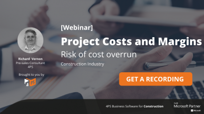 Webinar recording: Project Costs & Margins