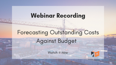 Forecasting Outstanding Costs Against Budget in 4PS Construct