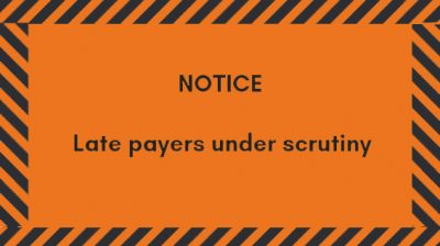 Late payments scrutiny in the construction industry: a necessary evil or the only way to better practices?