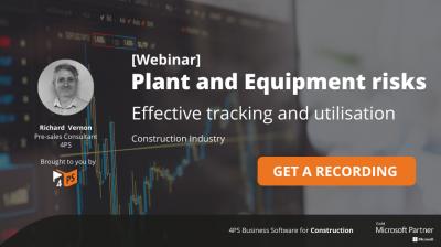 Webinar recording: Plant and Equipment Risks