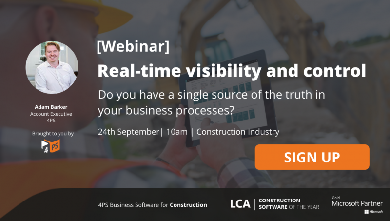 Webinar: Real-time visibility and control