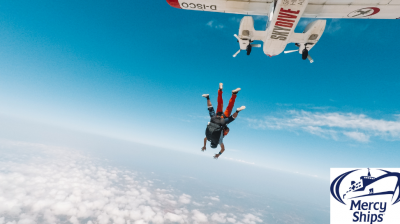 4PS Parachute Jump in aid of Mercy Ships