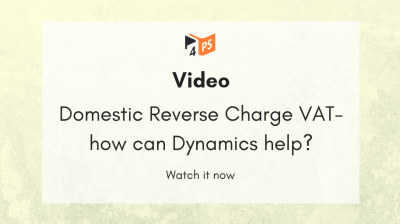 Video: Domestic Reverse Charge VAT - how can Dynamics help?