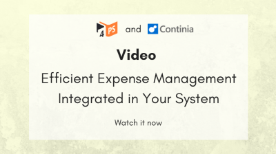 Video: Efficient Expense Management Integrated in Your System