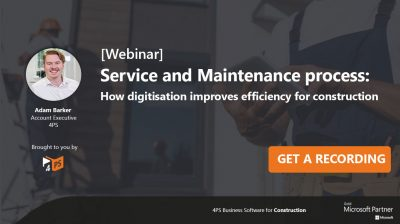Webinar: How can you digitise your service and maintenance process?