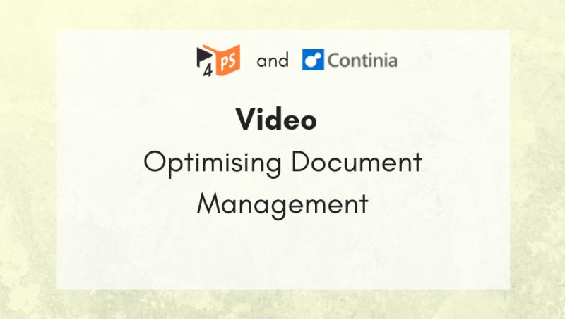 Video: Optimising Document Management Process