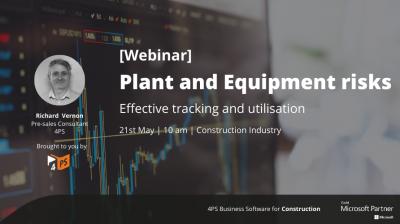 Webinar: Plant and Equipment Risks