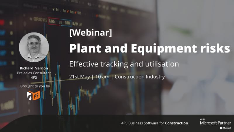Webinar: Plant and Equipment Risks